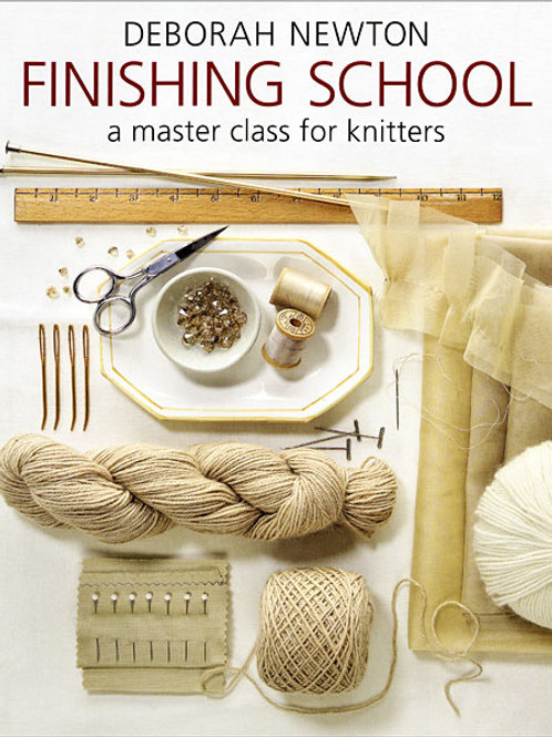 Finishing School: a master class for knitters [Paperback]