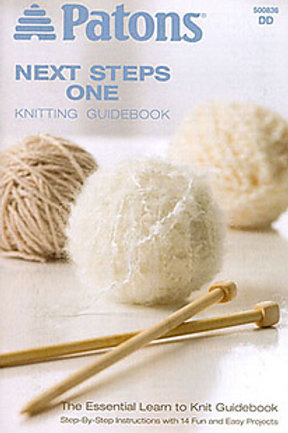 Patons Knitting Guidebook Next Steps 1 [Paperback]
