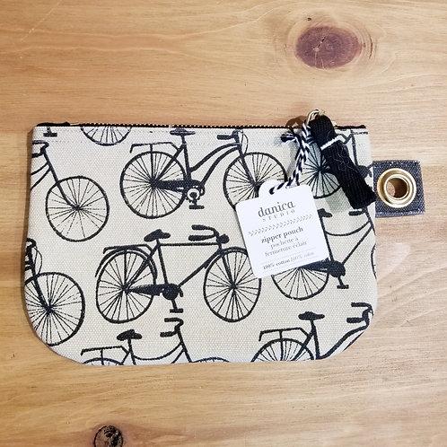 Bicicletta Small Zip Pouch