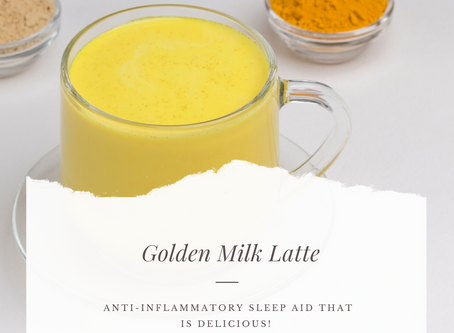 Golden Milk - The Beautifying Sleep Aid Drink
