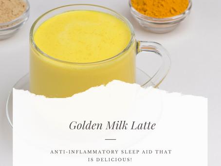 Golden Milk - The Beautifying Sleep Aid Drink