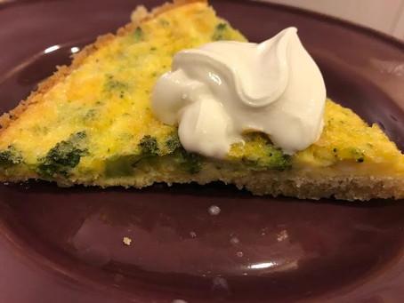 Almond Flour Crust Quiche