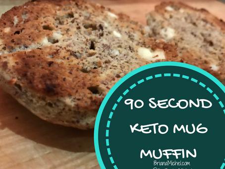 90 Second Mug Muffins! OMG!