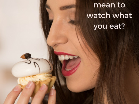 """""""I watch what I eat…"""" (a nutrition coach's look at what you really mean)"""