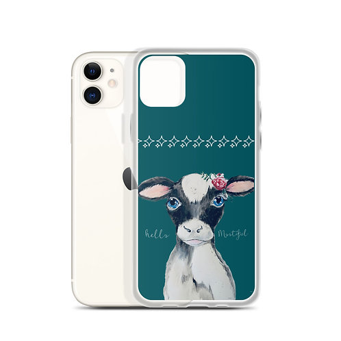 Hello Mootiful iPhone Case