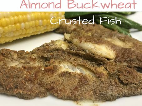 Almond Buckwheat Fish