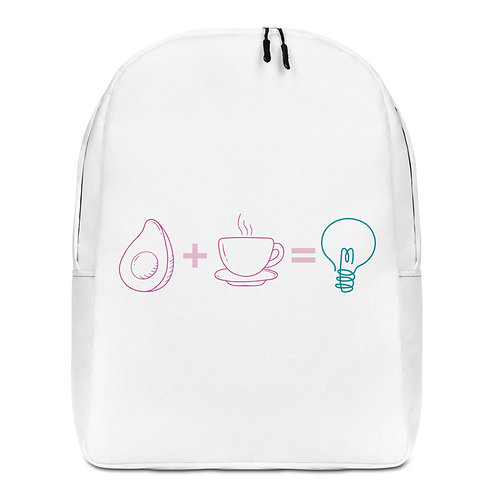 Fat & Caffeine Fueled Ideas Backpack