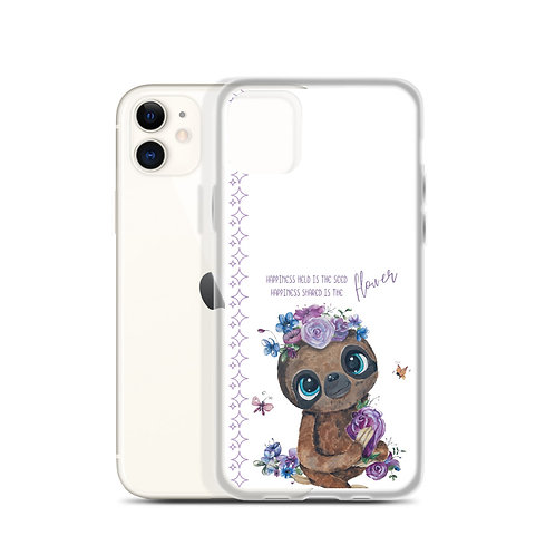 Sloth Happiness iPhone Case