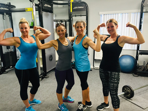 Girls Getting Strong!