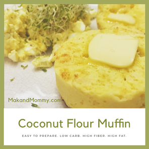 Mug Muffin (Coconut Flour Version)