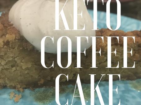 Keto Coffee Cake… mmm!