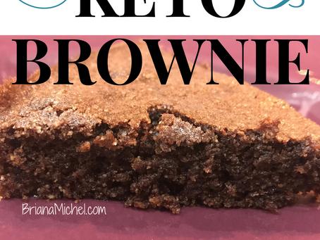 Super Moist Keto Brownie!