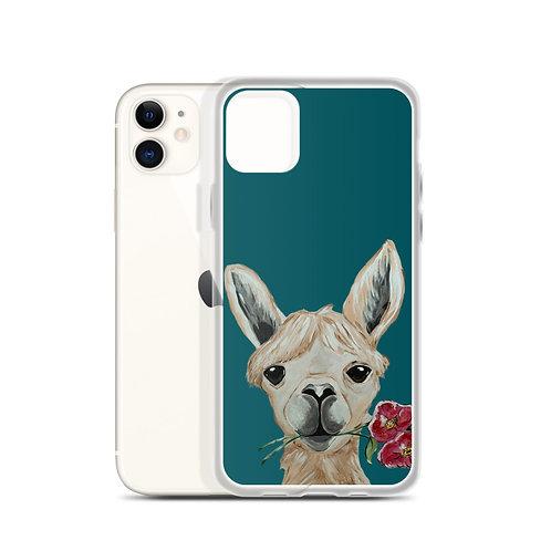 Petunia the Llama iPhone case