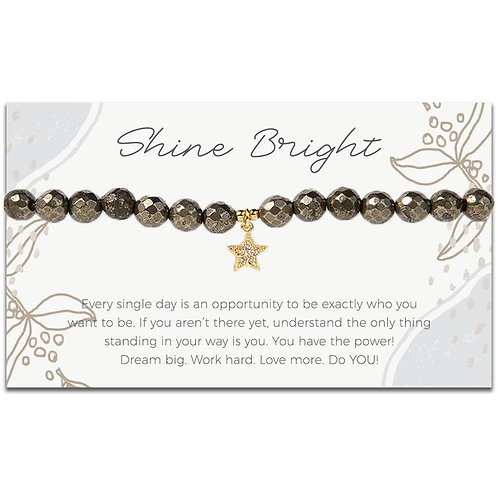 Token Stretch Bracelet, Star