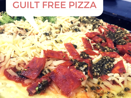 """""""Fathead"""" (but Skinny Body) Pizza!"""