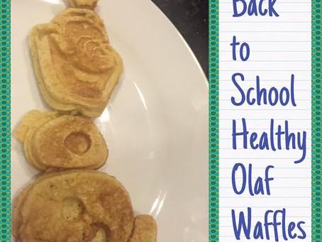 Olaf Waffles – healthy & easy for school days