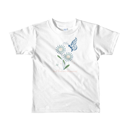 And then she blossomed - Kids tshirt