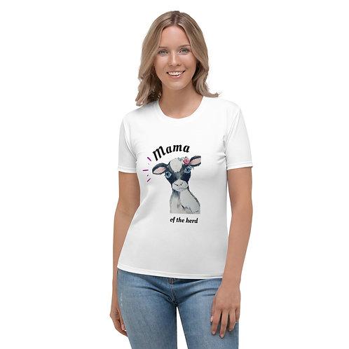 Mama of the Herd Women's T-shirt