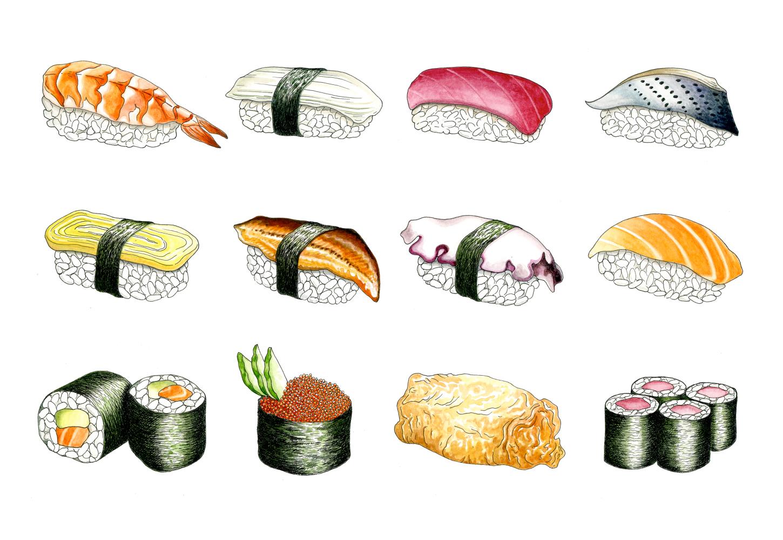 Sushi 12-Piece