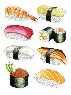 Sushi 8-Piece
