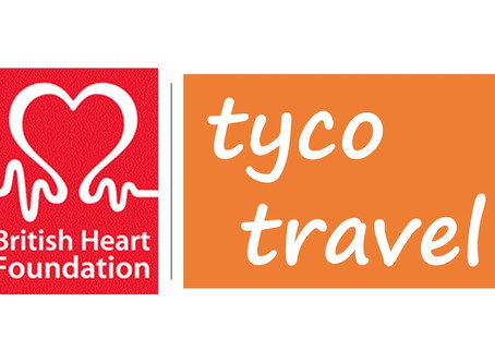 Support for British Heart Foundation