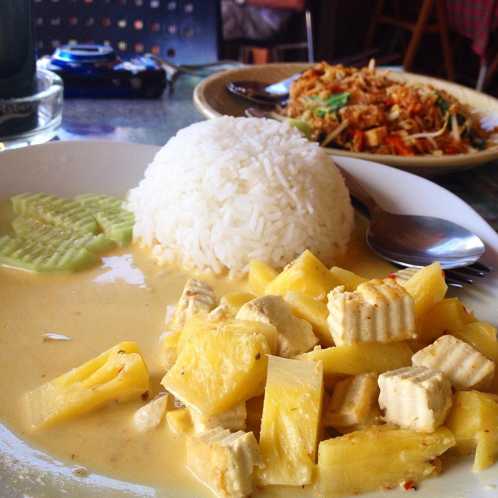 thai food vegan
