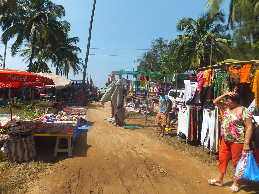 Anjuna Flea Market India