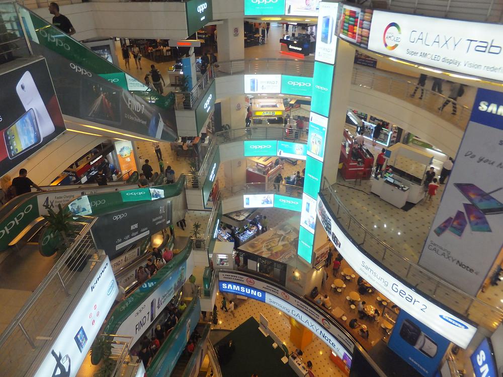 to do in kuala lumpur electronics mall