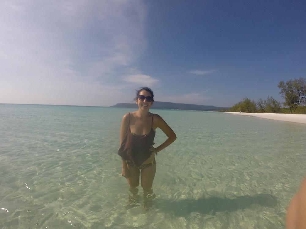 koh rong island beach