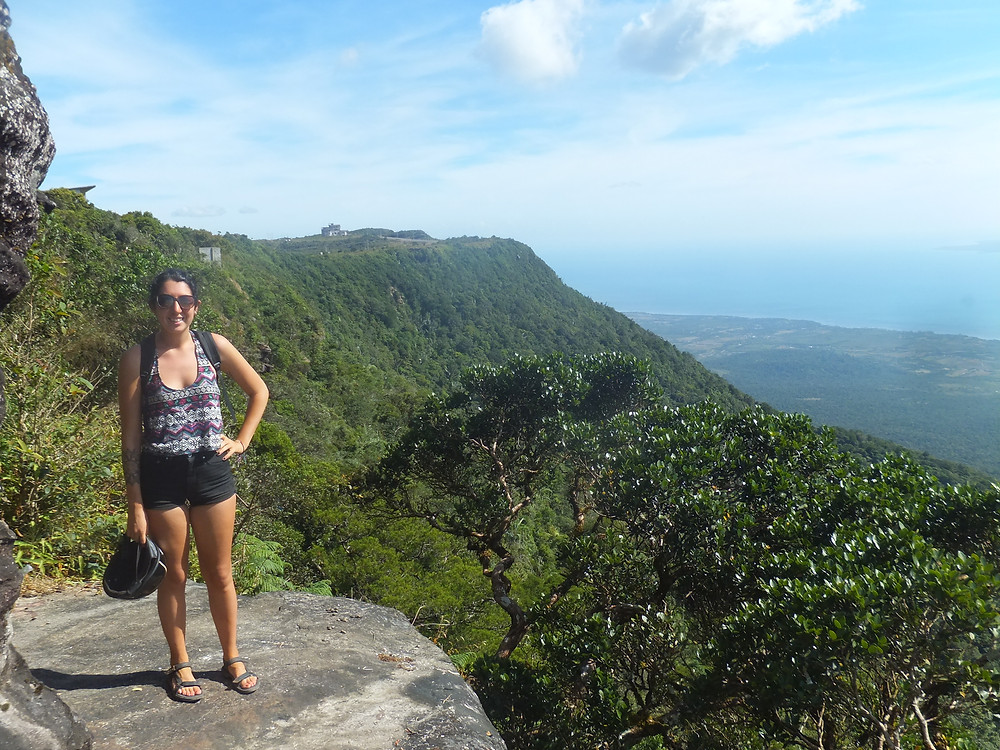 kampot view point bokor hill cambodia