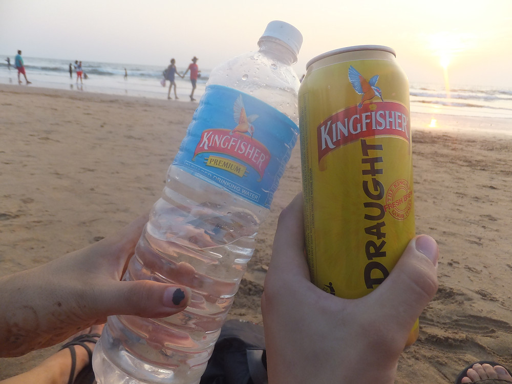 beer in india kingfisher price