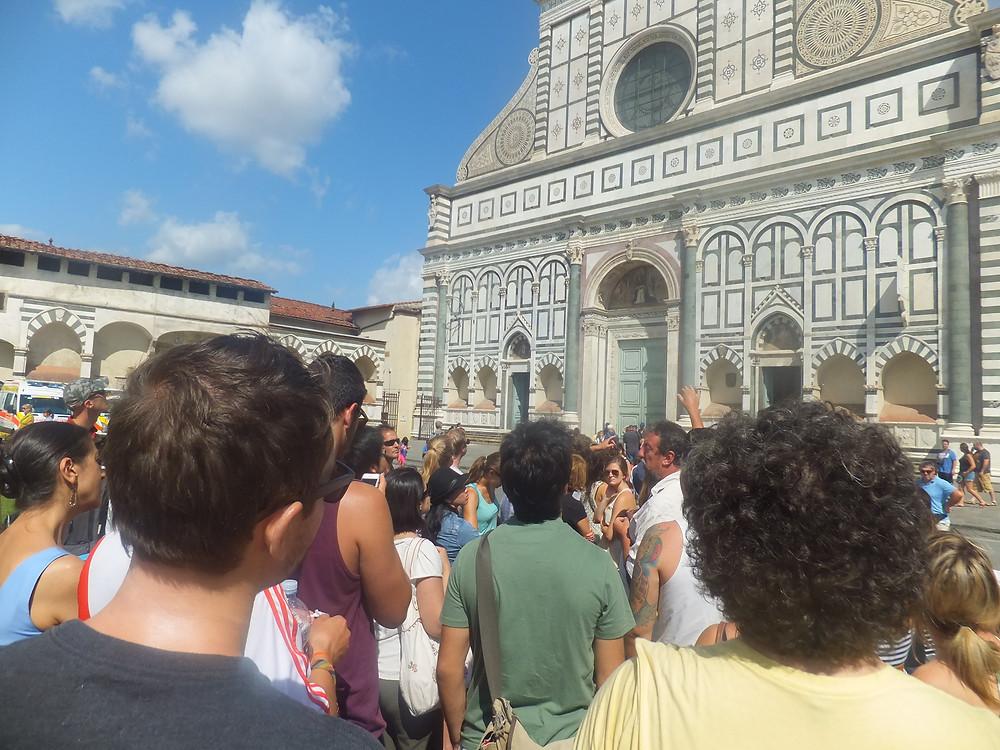 free walking tour florence review