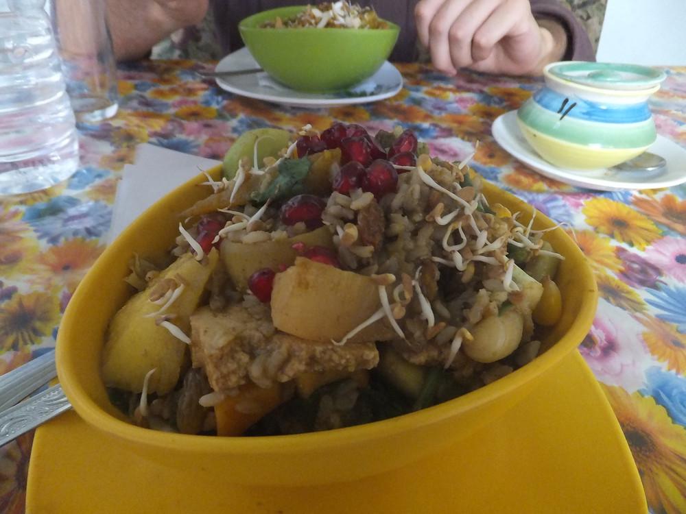 vegan food pushkar