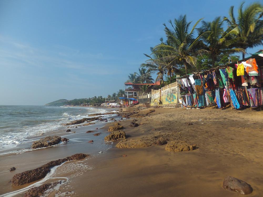 Goa India backpacking