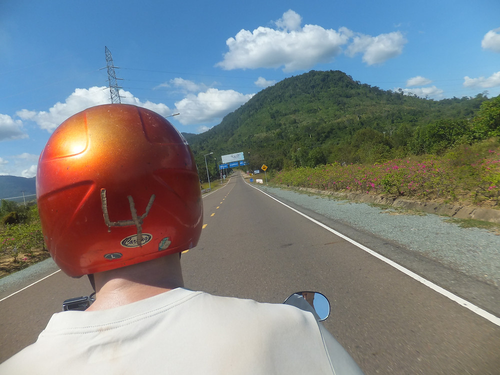 bokor hill station road condition cambodia rent moterbike