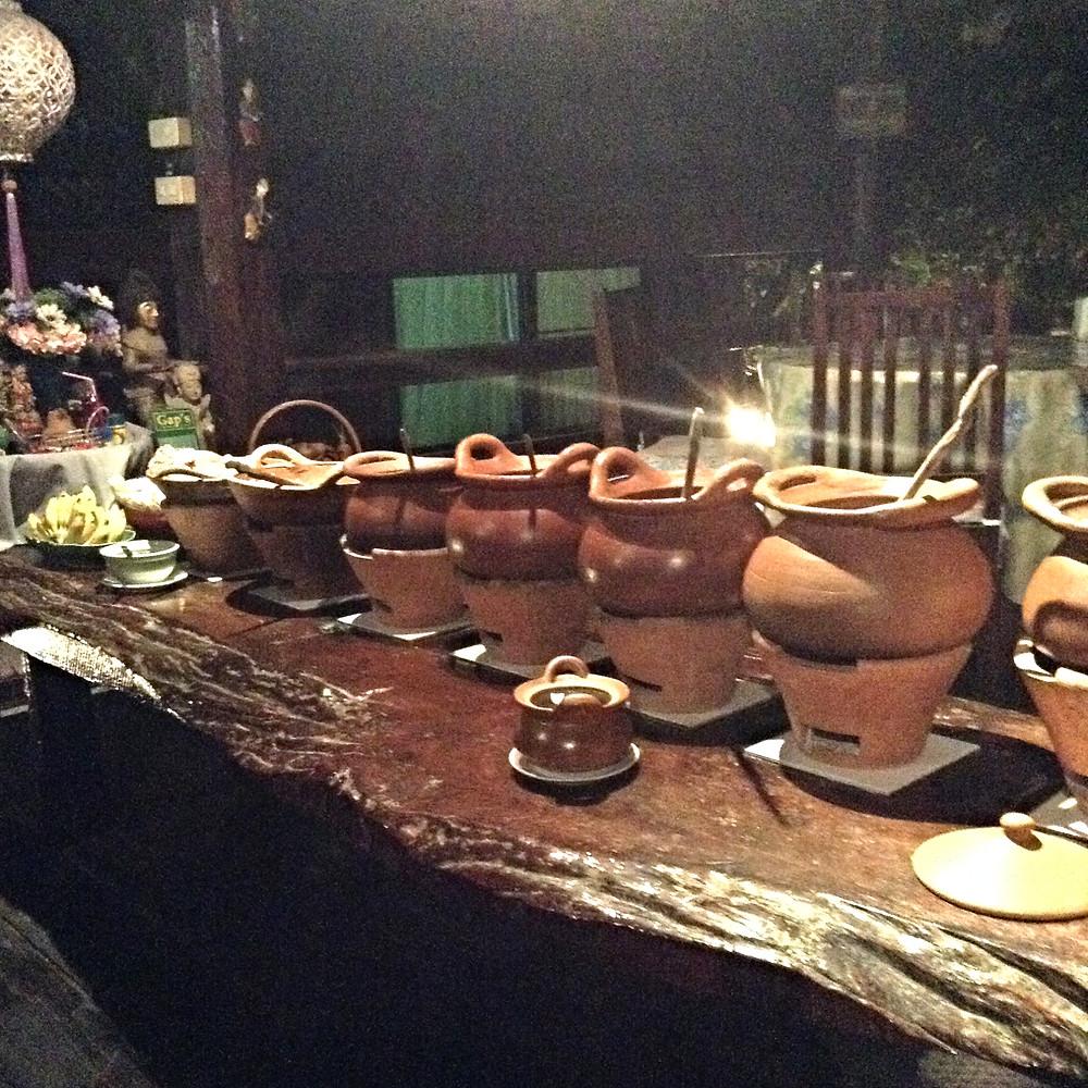 vegan thai food chiang mai buffet gap house