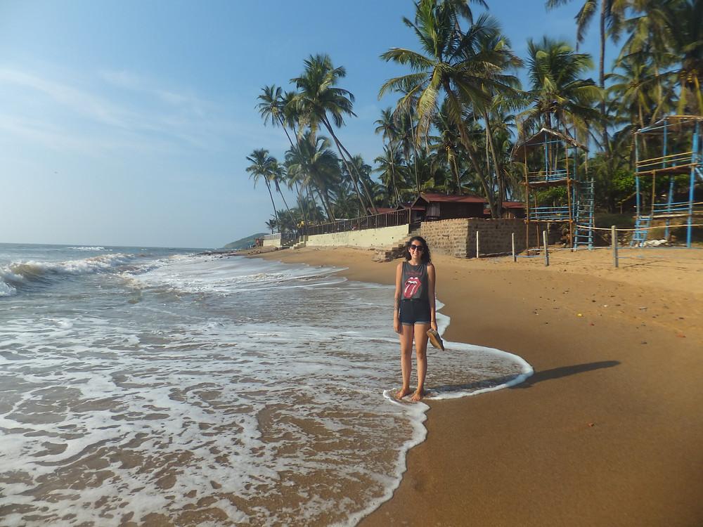 Anjuna beach india itinerary