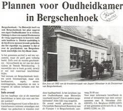 Krantenartikel in de Heraut