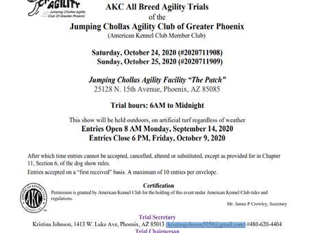 AKC Trials!