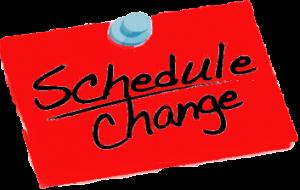 Class Schedule - April 2020