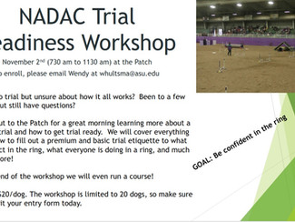 NADAC Trial Readiness Workshop