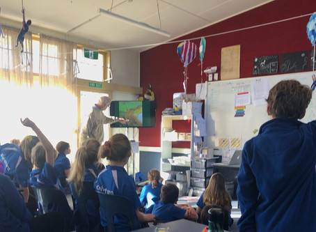 Ruary and Kari start work with New Zealand Schools!