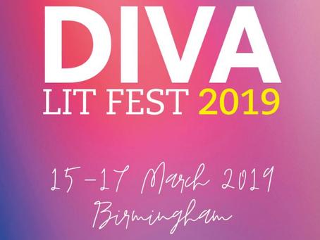 EVENT POSTPONED: I'm Attending DIVA Literary Festival 2019… are you?