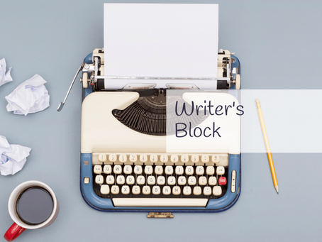 How writer's block finally caught up with me and how I (hopefully) overcame it