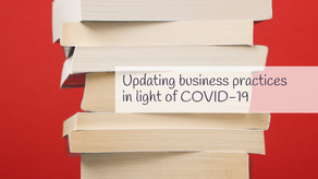 An update regarding COVID-19 and paperbacks