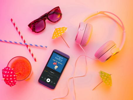The perfect summer audiobook is available now!