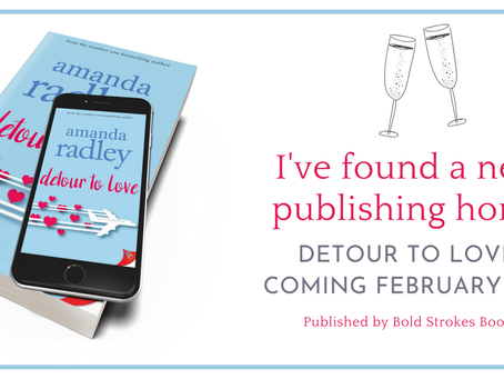 Exciting news, introducing my new publishing home and my next release!