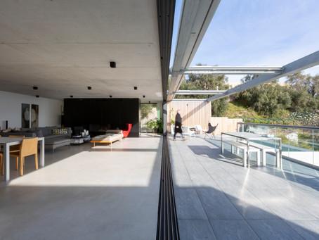 Une vraie maison d'architecte à l'abri des regards à Nice