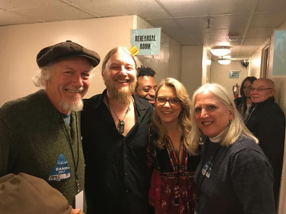 Backstage with Derek Trucks & Susan