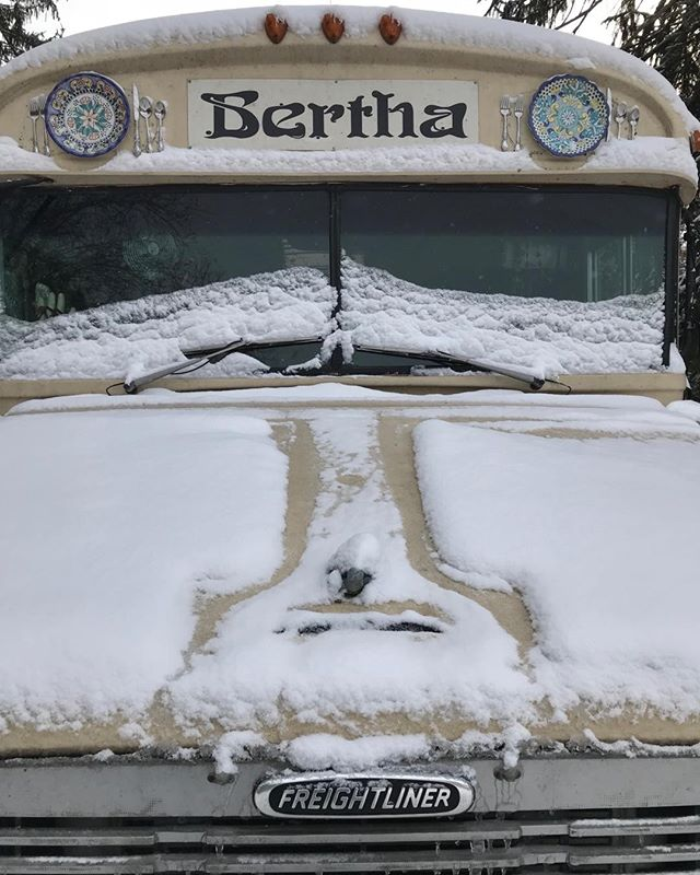 Happy Christmas from Bertha Bus!